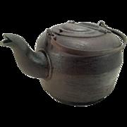 Antique Cast Iron Leibrandt Dowell Kettle Teapot with Handle Philadelphia 8