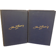 General John Pershing's Memoirs My Experiences in the World War 2 Volume Set 1931 1st Edition