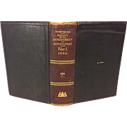 Pennsylvania Report of the Department of Agriculture 1899 Part 1 Leather Bound 1