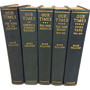 Our Times The United States 1900-1925 (5 of 6 Vols) Mark Sullivan 1926-33 Charles Scribner's Sons