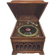 Antique SilverTone Phonograph Runs
