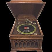 Antique SilverTone Phonograph Runs