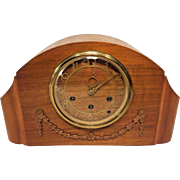 Vintage Seth Thomas Southbury Mantel Clock Art Deco Case Westminster Chimes Runs 124 Movement 1940