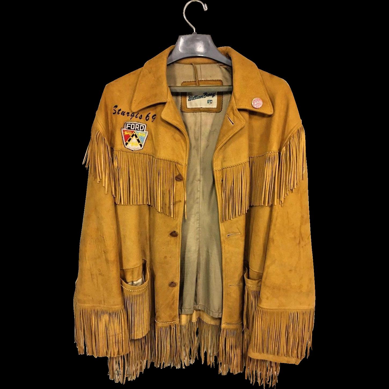 Deerskin leather jacket