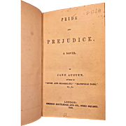 Pride and Prejudice by Jane Austen 1849  Antique Book Publisher George Routledge of London