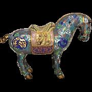 Vintage Cloissone Horse No Makers Mark