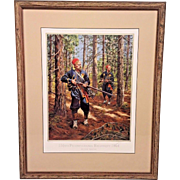 Don Troiani Ltd Ed Print 155th Pennsylvania Regiment 1864  Hand Signed and Numbered #840/950  Framed & Matted 1993 Civil War Regimental Series