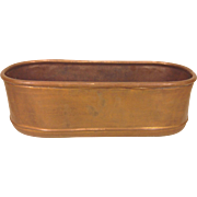 Antique Copper Stew Stock Pot
