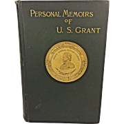 Personal Memoirs of US Grant by Ulysses Grant 1st Edition 1886 Volume 2 Only