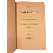 Sketches of War History 3 Vols1861-1865 Papers Read Before by Ohio Commandery 1888 Publ Robert Clarke & Co Cincinnati, OH 1st Edition Owned by Capt Heber Thompson of the 7th Pennsylvania Cavalry
