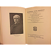 Civil War Book - Marching with Sherman by Henry Hitchcock & M A Howe 1927 Publisher Yale University Press