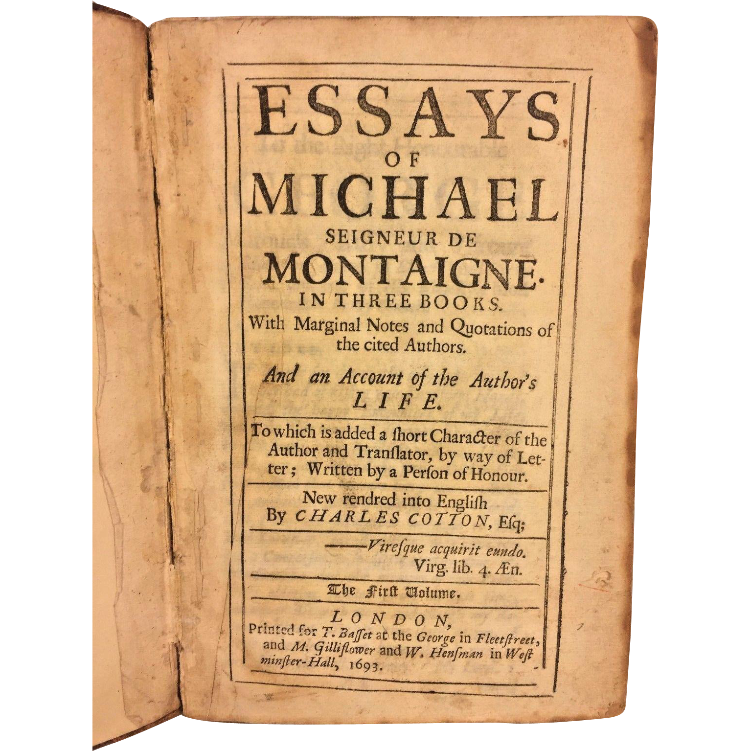 """truth and book montaigne In august of 1563, michel de montaigne, the famous french essayist, was  other  criterion of truth and reason than the type and kind of opinions and  for  instance, in his recent book, """"the righteous mind: why good people."""