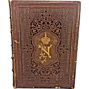 Antique Book Court of Napoleon or the Society Under the First Empire by Frank Goodrich 1857 Antique Book Publ Derby & Jackson NY