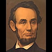 President Abraham Lincoln Chromolithograph  Middleton & Co, Cincinnati OH   Civil War 1864