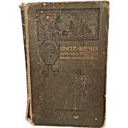 Uncle Remus and His Friends  by Joel Chandler Harris 1892  D Appleton & Company NY 1st Edition