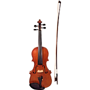 OVH Wang Violin The Dancing Master's Violin Loose Label 2008/2011  w/ Unmarked Violin Bow w/ Abalone Inlay Frog