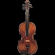 Vintage Michael Antoni Schafer Violin with Bow in Case Mittenwald Germany  Antonius Stradivarius Reproduction