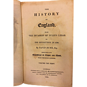 History of England 16 Vols 1808 by David Hume & Tobias Smollett Previous Owner was the 2nd Duke of San Carlos