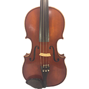 Vintage A R Seidel Violin with Case Glaesel Adjusted V131E 1985 Mittenwald Germany  Antonius Stradivarius Model