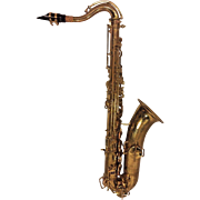 Vintage Wurlitzer American (Martin Stencil) Saxophone w/ Neck Mouthpiece & Case Lo Pitch 1940s to 1950s