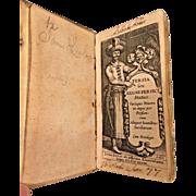 Rare Persia Feu Regni Persici Status Book by Iran Elzevir 1633 and De Imperio Magni Mogolis Sive India Vera 1631 Leyden Amsterdam 2 Books in 1  Miniature Book