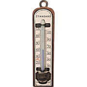 Vintage John Wanamaker Standard Thermometer Made in Germany