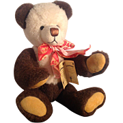 Rare Vintage German, Grisly - Spielwaren Hand Crafted, Artist Teddy Bear by D. Lederle. Limited Edition 36 of 333