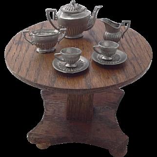 Rare Old Doll House Tea Set
