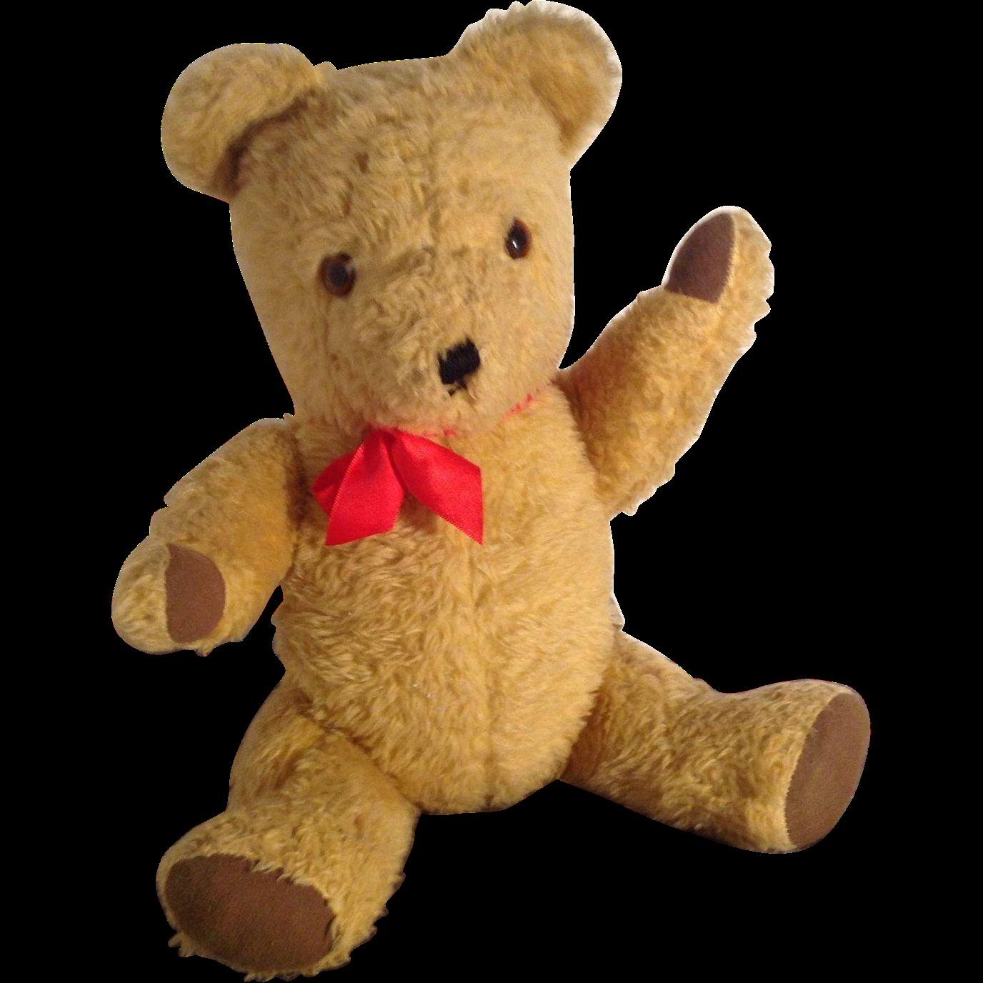 Very Cute Mid Century Vintage Haughtons British Teddy Bear ...
