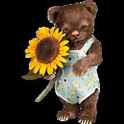 R. John Wright Dolls - Toddler Bear Christopher