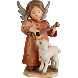 12 Inch Hummel Christmas Angel Artist Doll Angel Serenade Felt Limited to 100 Dolls