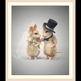 "R. John Wright ""Forever"" Bride and Groom"