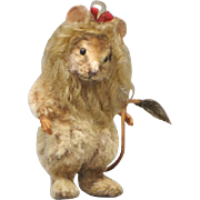 "3"" R. John Wright ""Cowardly Lion"" Mouse from Wizard of Oz Limited Edition 200 Pieces"