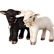 """10"""" R. John Wright Springtime Lambs Limited Edition 150 Pieces"""