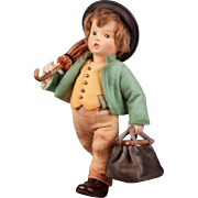 """12""""  R. John Wright Hummel """"The Merry Wanderer"""" Doll Limited Edition 250"""