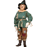 """18"""" R. John Wright Scarecrow from The Wizard of Oz Artist Doll"""