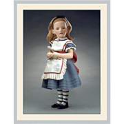 """17"""" R. John Wright Alice in Wonderland Character Doll Limited Edition"""