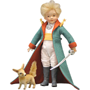 """8.5"""" R. John Wright The Little Prince Artist Doll Limited Edition 350 Pieces"""