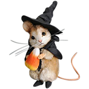 Trick or Treat Mouse by R. John Wright ARTIST PROOF! Halloween Mice Collection