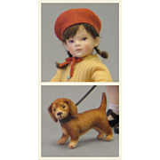 "R. John Wright ""Fall"" From Four Seasons Series Toddler Doll Limited 100 Pieces"