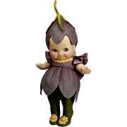 "ARTIST PROOF R. John Wright 6"" Crocus Flower Kewpie Doll Rare!"