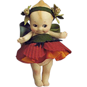 "Low Number 6"" R. John Wright Poppy Kewpie Artist Doll"