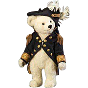 23 inch Bear Admiral from the R. John Wright's Bears at Sea Collection