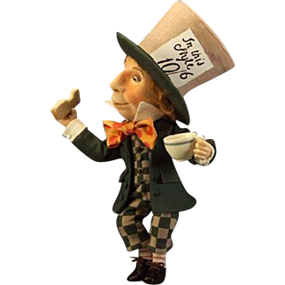 16 inch The Mad Hatter from R. John Wright's Alice in Wonderland series