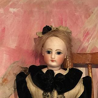 Fashion ORIGINAL Gaultier, Francois Doll 1890 French Porcelaine Bisque Head 40cm