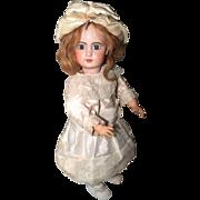 Antique ORIGINAL French  Tete Jumeau Porcelaine Bisque Head 1895