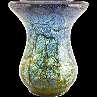 """Ikora"" Art Glass Vase by WMF, German — Stunning, c. 1930s"