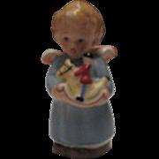 Vintage Goebel(Hummel) 41-236 Angel with Rocking Horse a True Gem