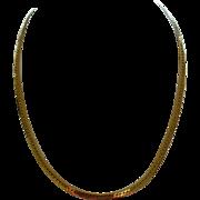 14k Italian Gold Neckchain