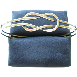 Sterling Eternity Bangle
